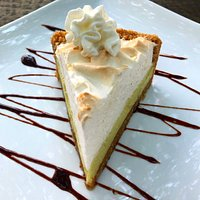 Our famous home-made Key Lime Pie