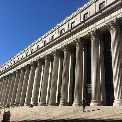 Grand portico