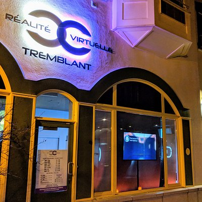Look for the big illuminated sign at Tremblant resort just next to the Fairmont hotel - we are open daily from 12 noon till late
