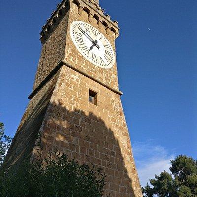 מגדל השעון.
