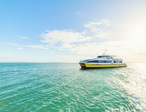 SeaLink Magnetic Island Ferry - The Quickest Link to Magnetic Island. 18 Trips, 20 Minutes