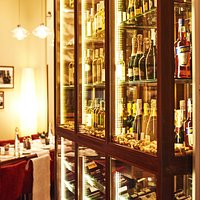 Vinoteca with an exclusive selection of wines