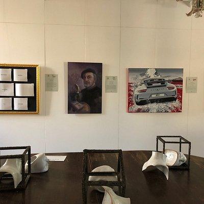 Kunstausstellung in der Villa Schiff