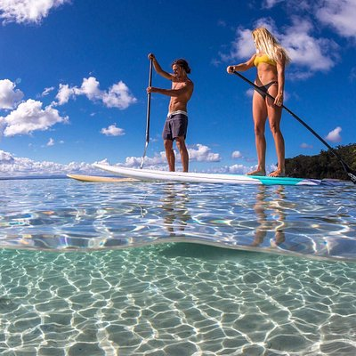 Paddle the beautiful south coast