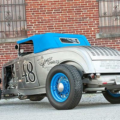 32 ford built with all Honest Charley parts