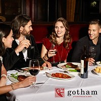Special occasions or everyday dining... Gotham will always make your evening unforgettable.