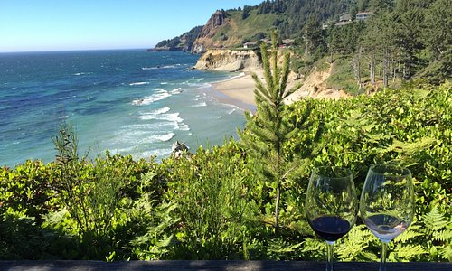 Great wine with an amazing view!