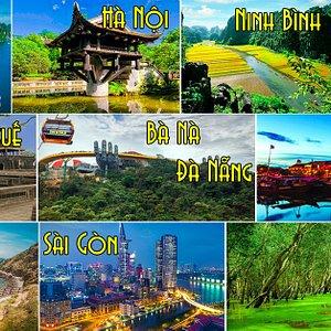 Những hình ảnh về các địa danh nổi tiếng Việt Nam
