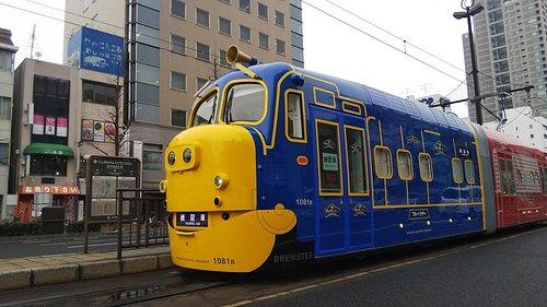 3月から登場予定のチャギントン電車です。