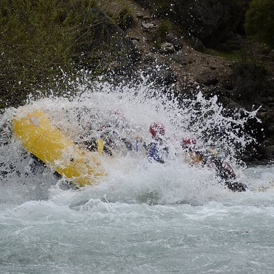 Rafting en río Aluminé superior