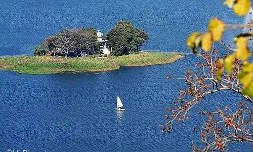 Island in the Upper Lake