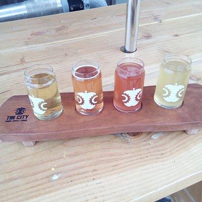 Cider selection