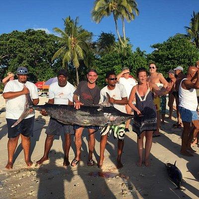Sortie 15 Janvier 2019, Magnifique Marlin pecher a 3 mille nautique.