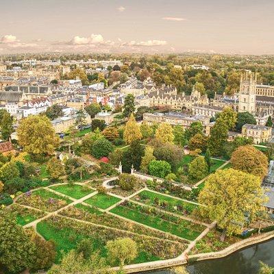 The University of Oxford Botanic Garden