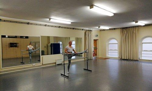 The Dance Studio in use