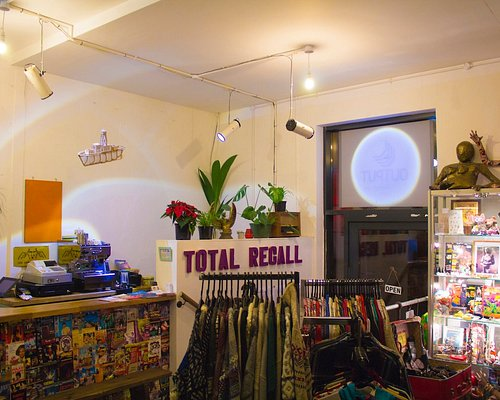 Total Recall Vintage in Liverpool, loads of quality items at good prices! Love it