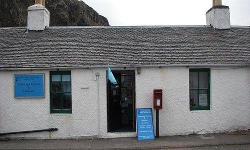 The Heritage Centre occupies a quarryman's cottage in the village of Ellenabeich, Seil Island.