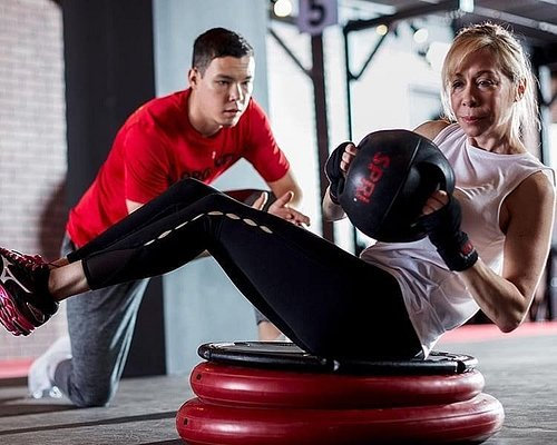 Workout with trainer, any fitness level and age!
