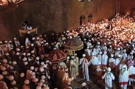 This is Christmas Time In Lalibela