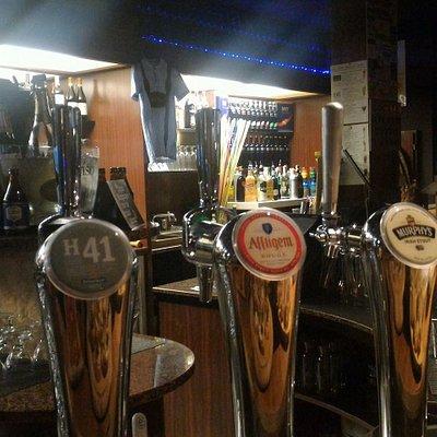 Abbiamo 8 spine con tutte le tipologie di birra