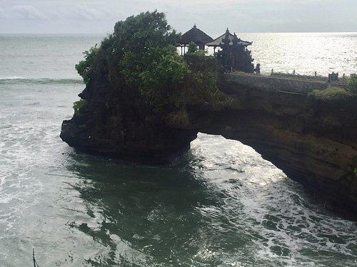 Tempel Pura Batu Bolong auf Bali