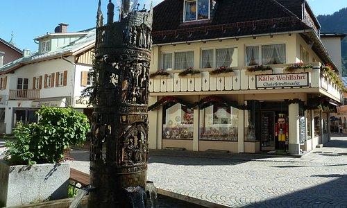 Christkindlmarkt (Käthe Wohlfahrt) i Oberammergau