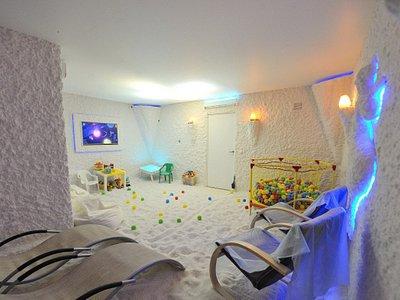 Интерьер соляной комнаты