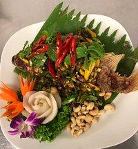 Thai Dragon Fisch Gericht