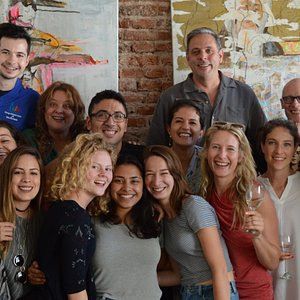Grupo de estudiantes y Staff de VOS Buenos Aires