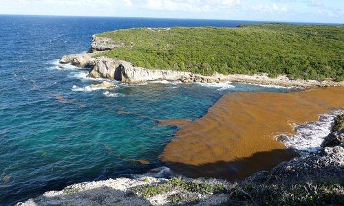 La Guadeloupe - Le lagon de la porte d'Enfer