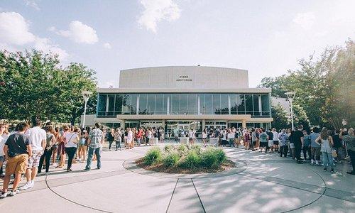 Ovens Auditorium in Charlotte, NC.