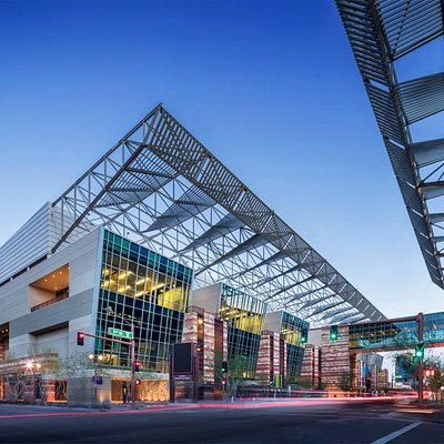 Phoenix Convention Center is located in walking distance of Light Rail, shopping and restaurants