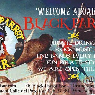 Black Parrot Bar Presentacion