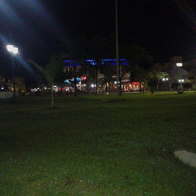 Plaza de Los Constituyentes: Iluminaciòn Nocturna- Federaciòn, Entre Rìos 2019.