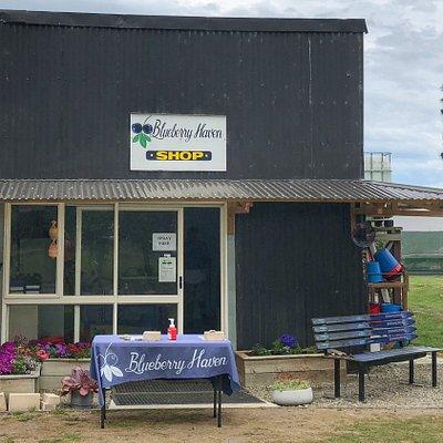 Blueberry Haven shop.