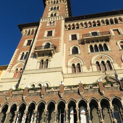 L'alta torre del palazzo
