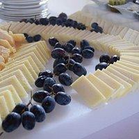 buffet di formaggio