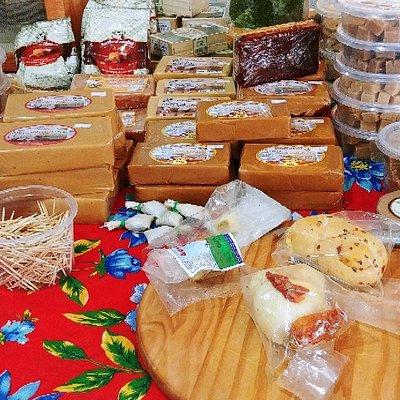 Doces e queijos da Serra da Canastra