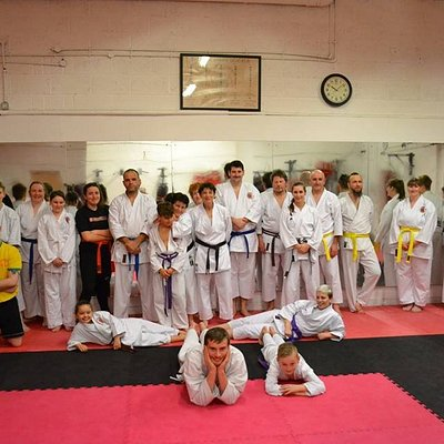 Sengoku Martial Arts Karate class in Featherstone.