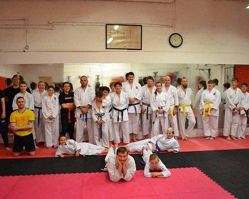 Sengoku Martial Arts Karate class in Featherstone.