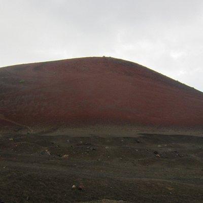 """""""Rückseite"""" Montaña Colorada"""