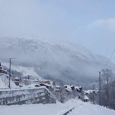 Kilka zimowych zdjęć z Voss
