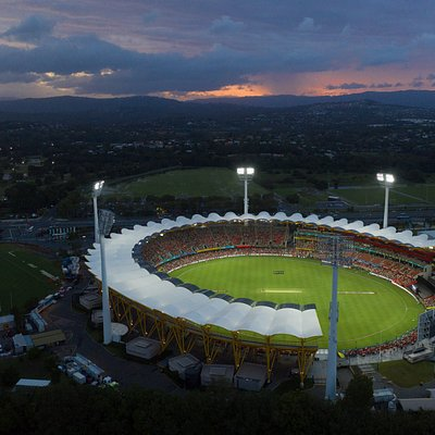 Metricon Stadium during our first Summer of Cricket