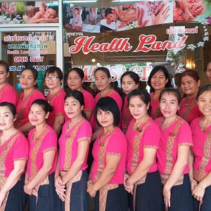 Our staff Members at Healthland Massage Patong