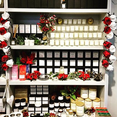 Calliope Gifts' own range of artisan candles and reed diffusers, created in the Cotswolds using natural fragrances.