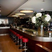 Barra de restaurante-bar Warynessy. Villena-Alicante