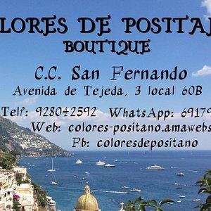 Colores de Positano Boutique Italian Style