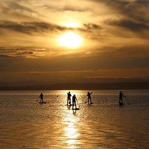 Sunset Sup Experiences on Montrose Basin