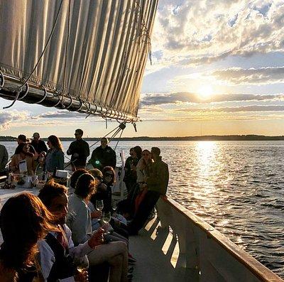 Sunset Wine Sail