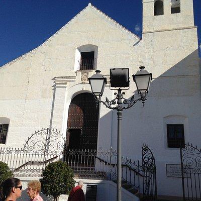 Church opposite square